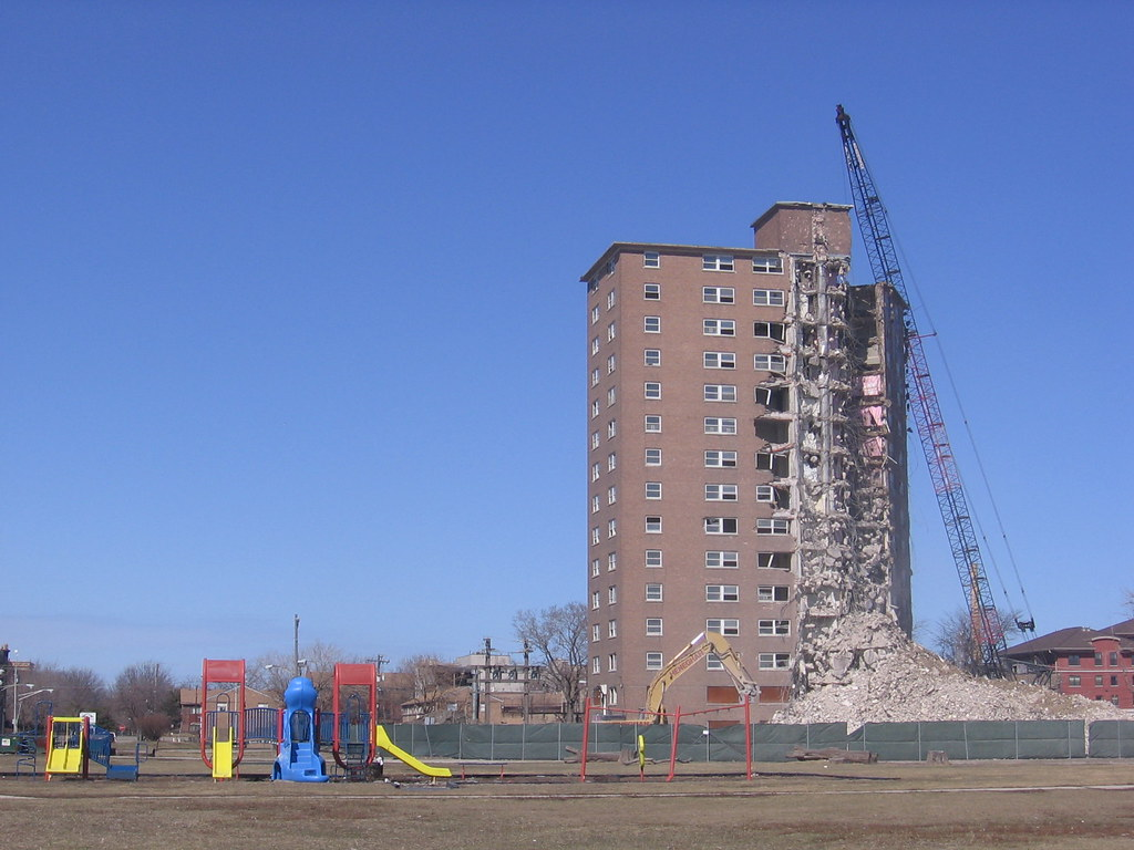 High Rise Demolition : High rise demolition ashland roosevelt area abla homes