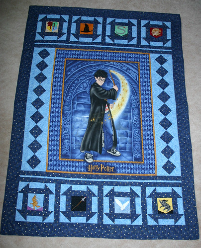 Harry Potter Quilt By Juanita Quilt Pieced By Juanita