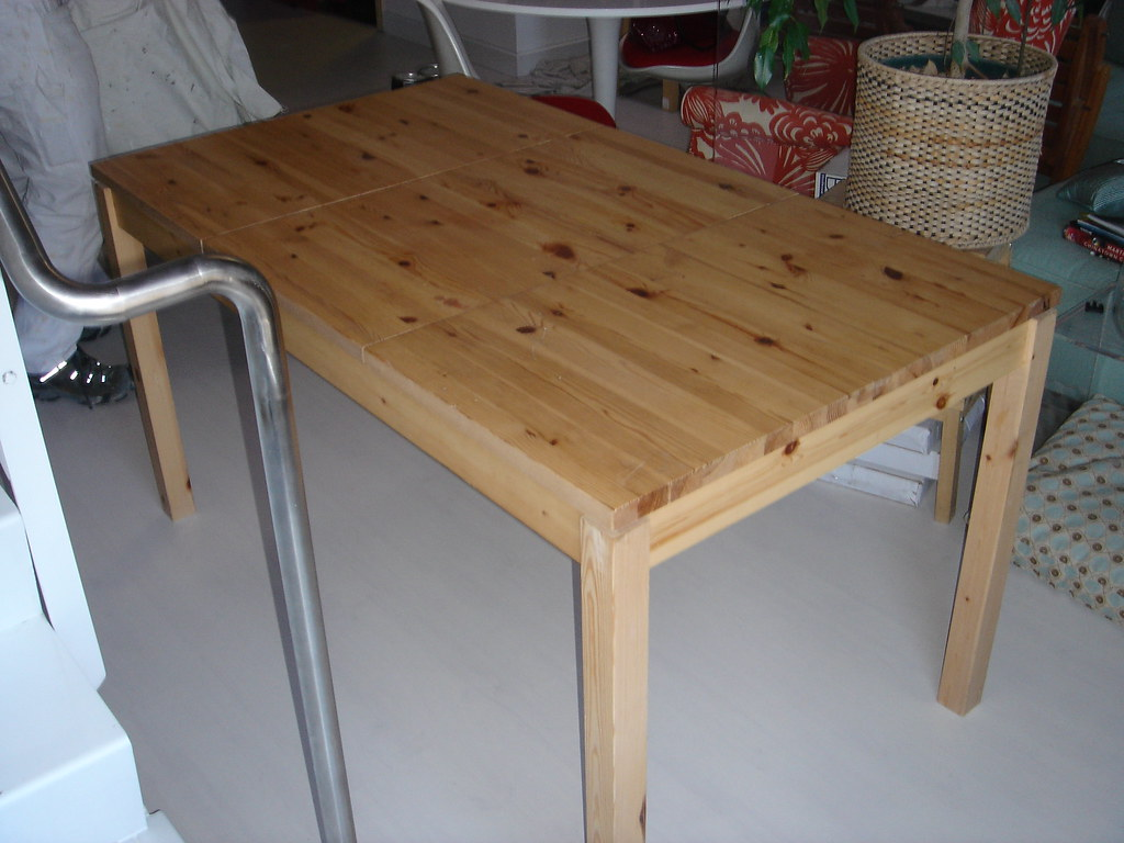 Ikea Pine Husar Table For Sale Sfbay Craigslist Org Sfc Fu Flickr