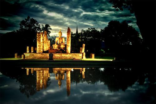 Thailand: Wat Traphang Ngoen, Sukhothai  Rene  Flickr