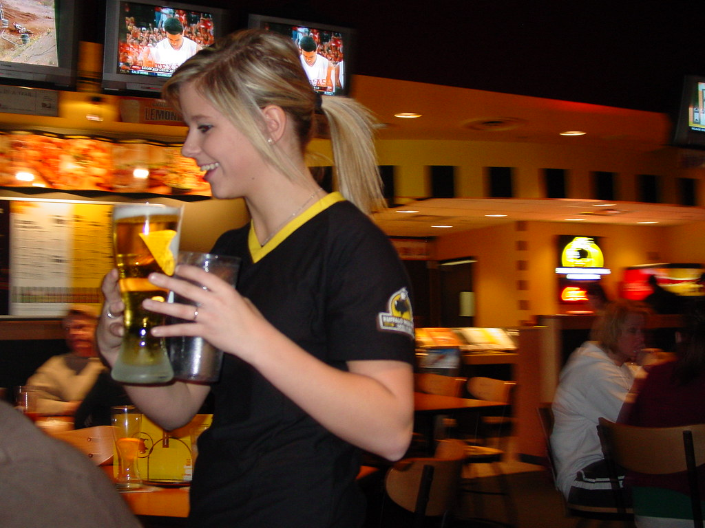 image Wild wings waitress and me