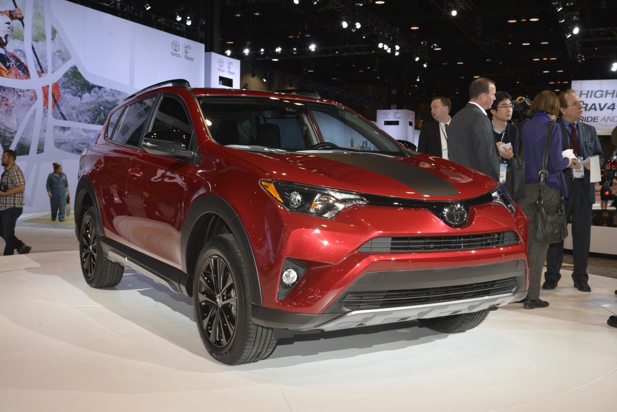 2018 Toyota RAV4 Adventure live photos: 2017 Chicago Auto Show
