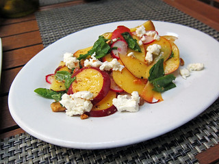 peach salad | by frodnesor