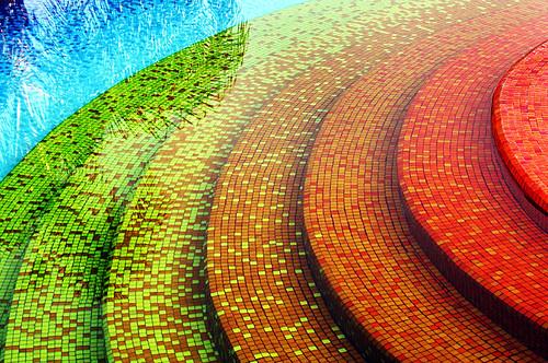 Cuernavaca spa for Gresite piscinas colores