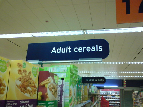 Adult cereals | by yadniloc