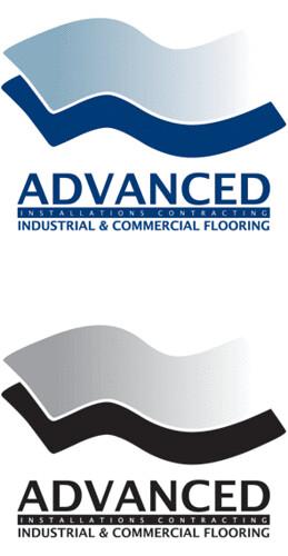 Advanced Flooring Logo Design Advanced Flooring Logo