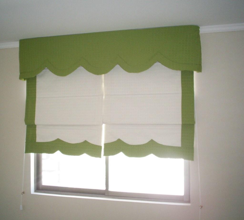 Store store cenefa ondas store con borde en combinacion - Stores y cortinas ...