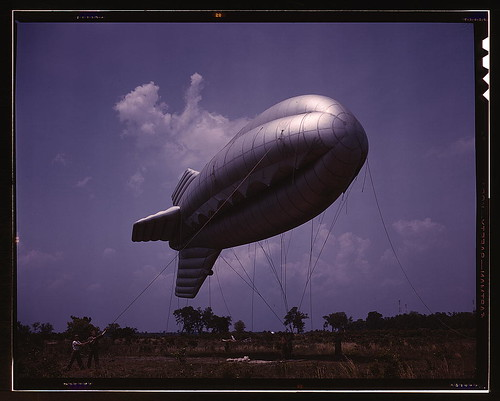 Parris Island, S.C., barrage balloon  (LOC) | by The Library of Congress