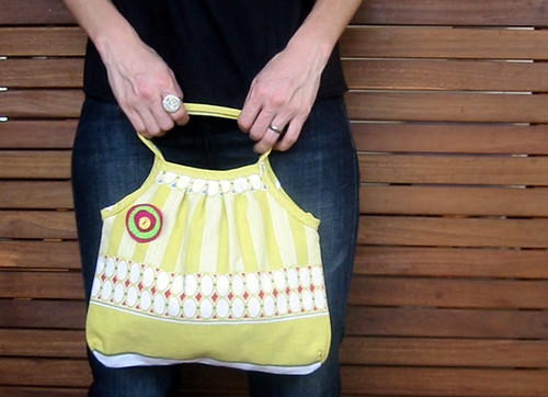 Poppity Cake reversible handbag | by WheresBeckybean