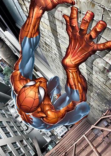 Alex ross spiderman white - photo#7