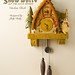 Snow White Cottage Cuckoo Clock