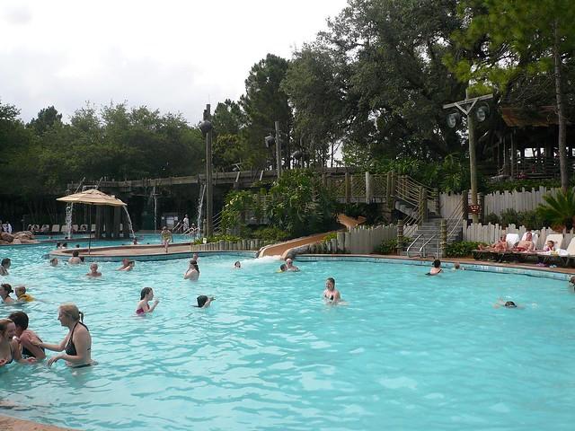 Disney Port Orleans Riverside Hotel Pool Flickr Photo Sharing