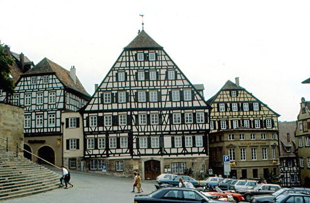 Schw bisch hall clausnitzer haus a half timbered house o flickr - Gunst mobelhaus schwabisch hall ...