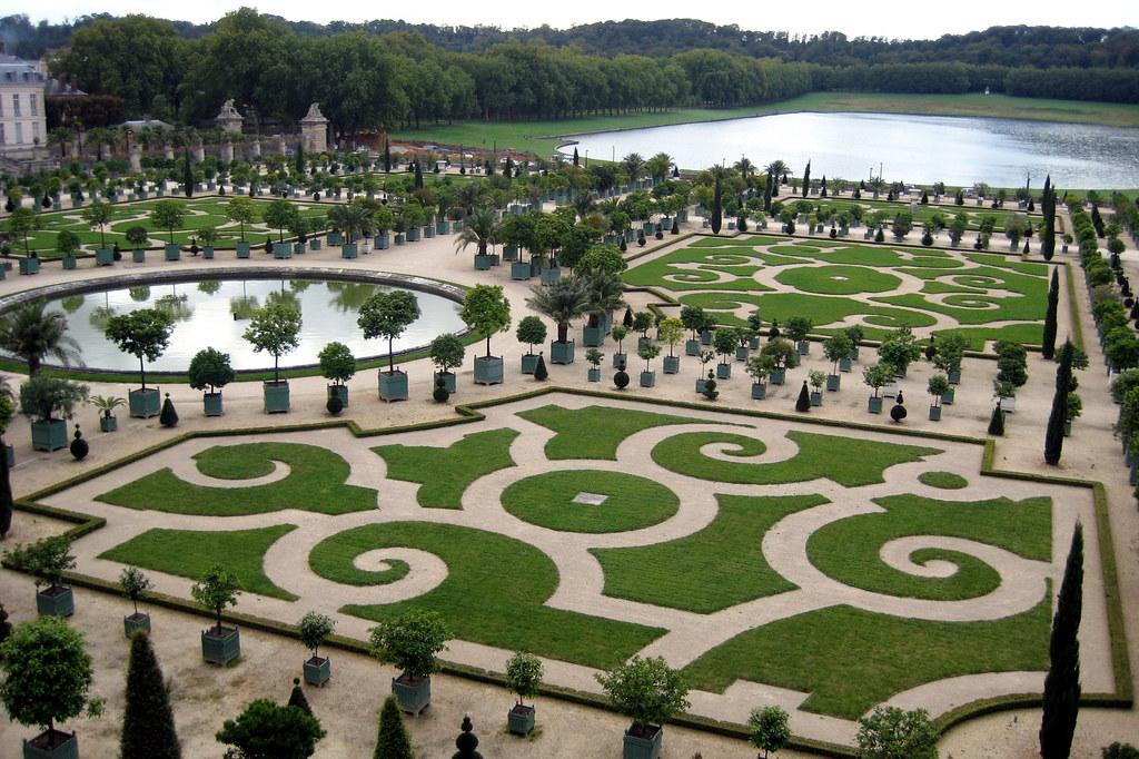 versailles jardins du chteau de versailles orangerie et piece deau des suisses - Jardin Chateau De Versailles