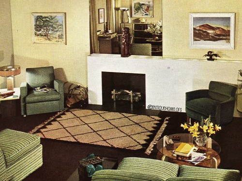 1950s Livingroom 1950 Living Room Interior Design Ideas