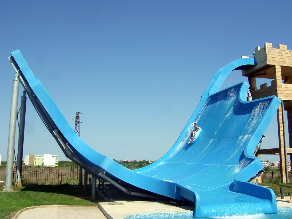 nessebar waterpark the greatest water slide ever robert