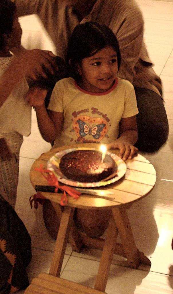 The ceremonial cake-cutting Processing credits to Pankaj ...