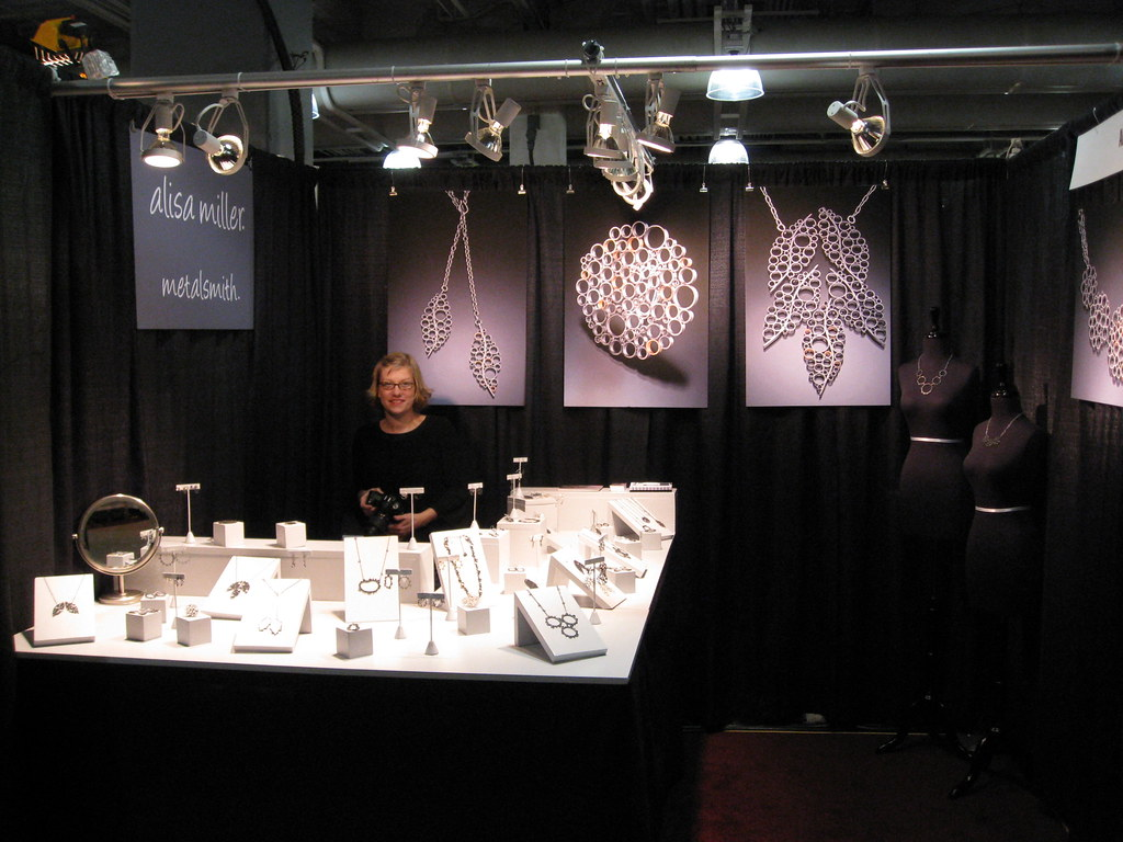 Jewelry Art And Craft Show Booth