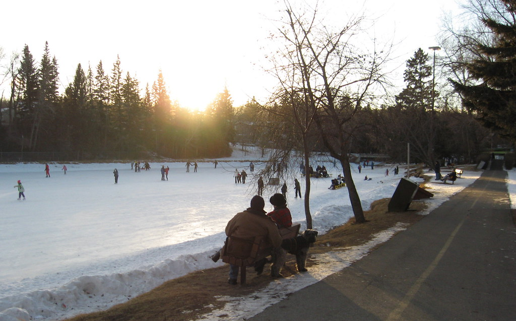 bowness park skating rink quotalthough many calgarians have