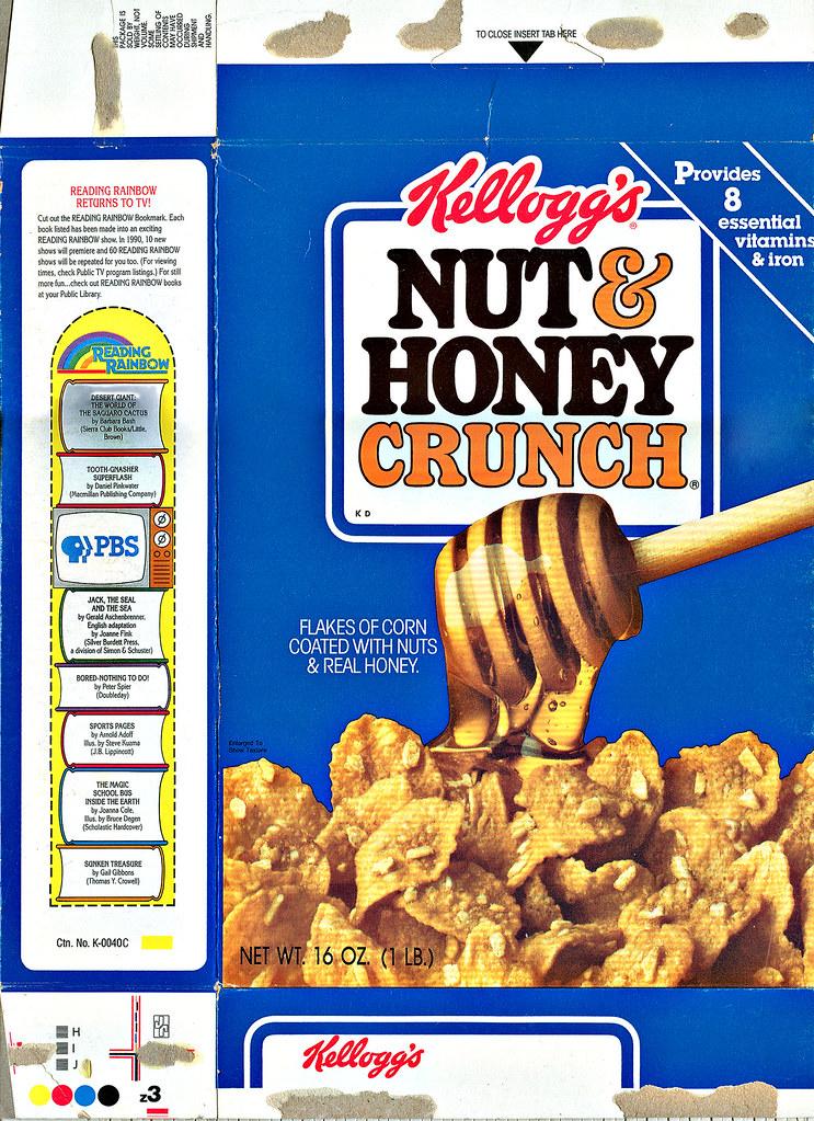 Quot Kellogg S Nut Amp Honey Crunch Quot I 1990