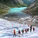 Blue ice adventure