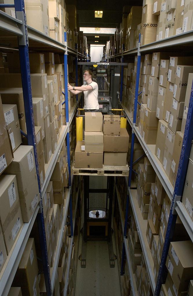Order picker, order picker forklift, order picking by Atle… | Flickr