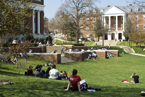 People watching | by University of Maryland, College Park