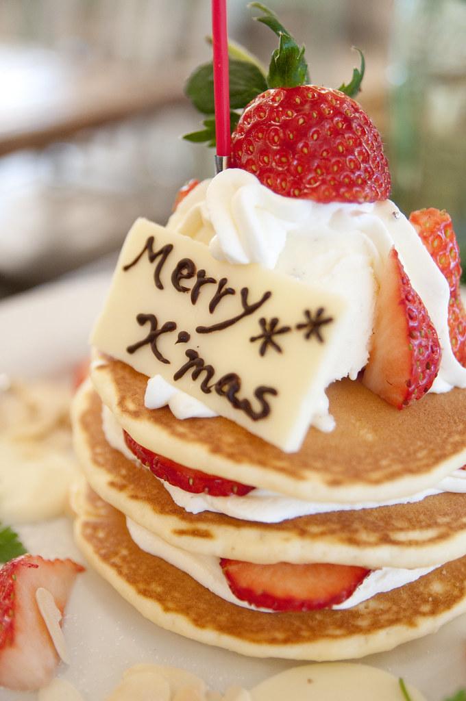 Christmas Pancakes J S Pancake Cafe Aoyama クリスマスパンケーキ