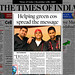 DBoost Times of India Feature