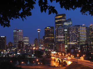 Calgary at Night | by njchow82