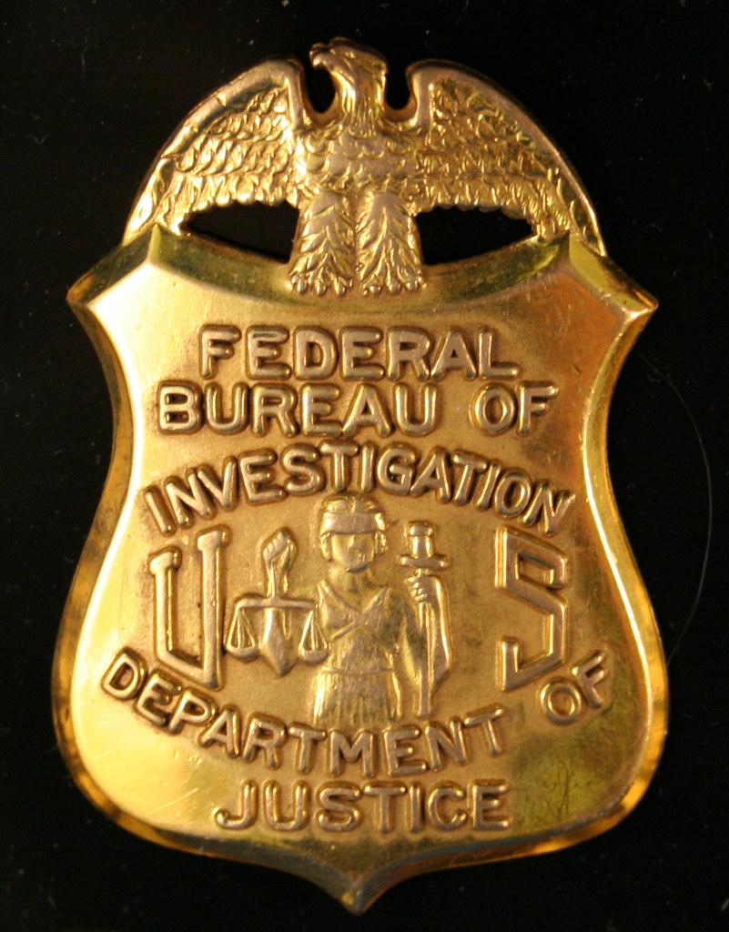 Fbi Badge John Flickr