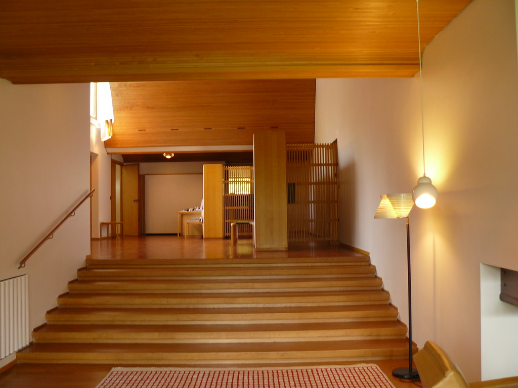 Alvar aalto house interior - Maison Louis Carr 233 Alvar Aalto Course With James Njoo