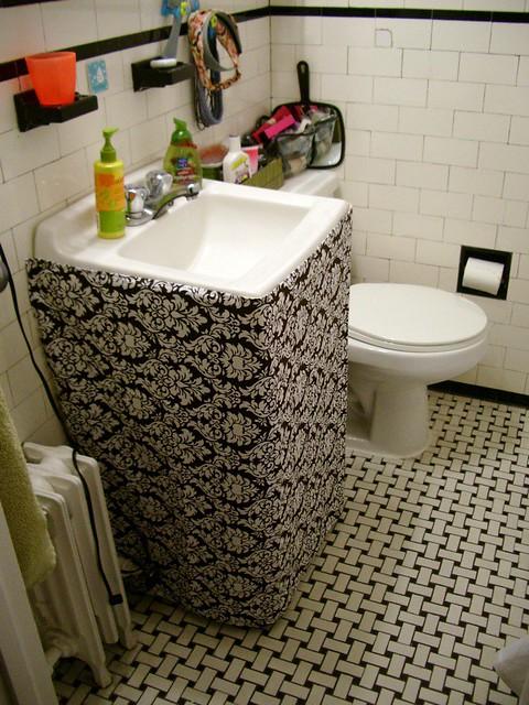 Bathroom Sink Skirt By Whistlepea Bathroom Sink Skirt By Whistlepea