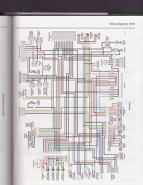 thruxton wiring diagram thom richards flickr