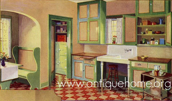 48 Kitchen Gordon VanTine Catalog 48s Kitchen Desig Flickr New 1930 Kitchen Design