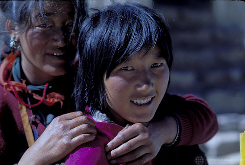 Portrait of two women. China | by World Bank Photo Collection