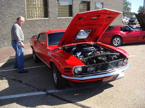 1970 Mustang Mach One With Shaker Hood Jimmy Smith Flickr