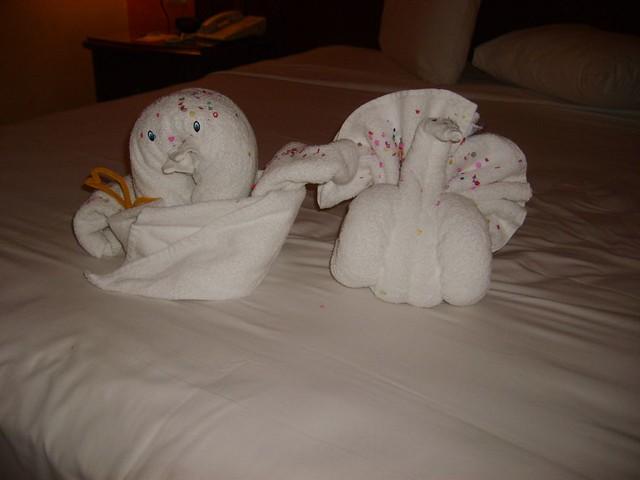 Adorno con toallas ferran rodenas flickr for Adornos con toallas