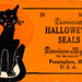 Halloween Cat Seals