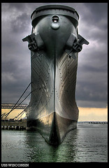 USS Wisconsin | by stevehdc