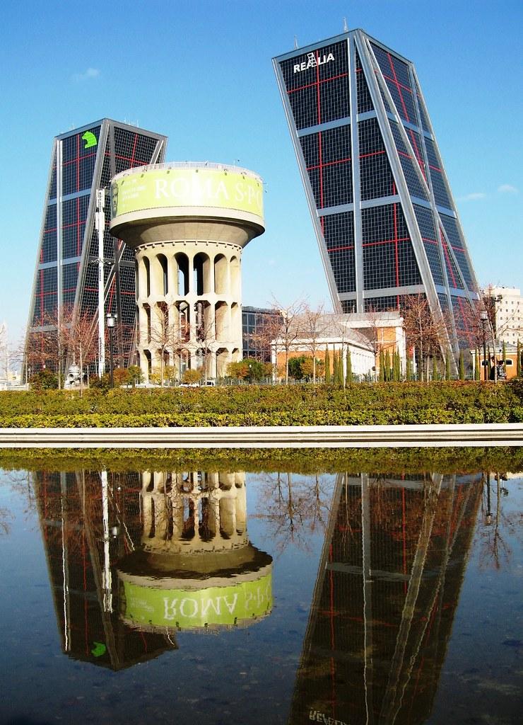 Madrid plaza castilla dep sito canal yii y torres kio 407 - Torres kio arquitecto ...