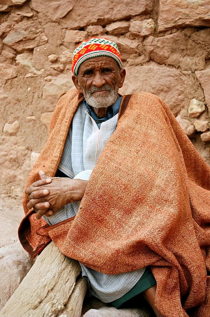 Fed Up >> Old man, Aït Benhaddou, Morocco | Ian Cowe | Flickr