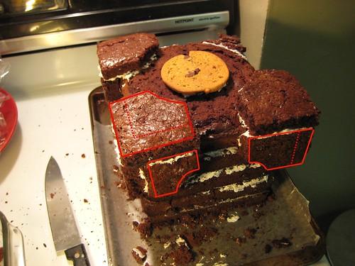 Companion Cube Cake Pan