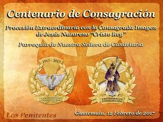 Centenario de Consagración Jesús de Candelaria