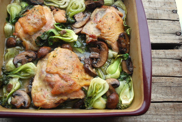 Chicken and Bok Choy Blog