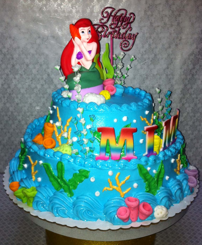 Mima S Little Mermaid Birthday Cake Sweet Creamz