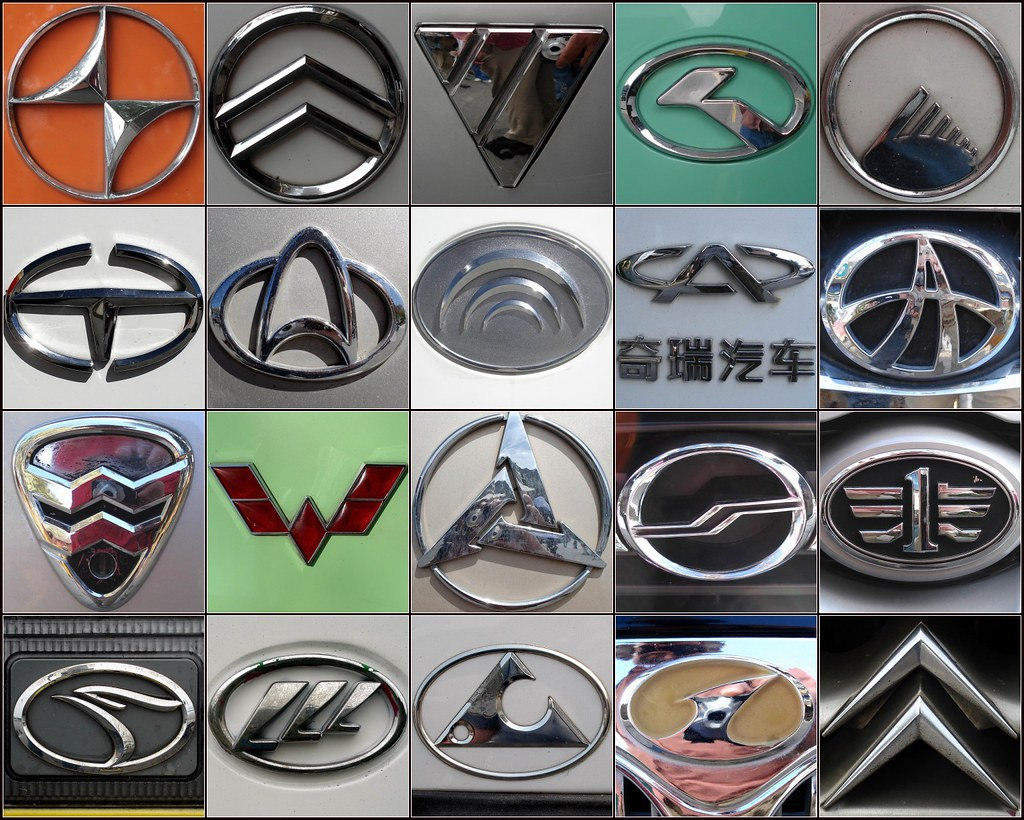 Chinese car logos | I noticed lots of unfamiliar car (and ...