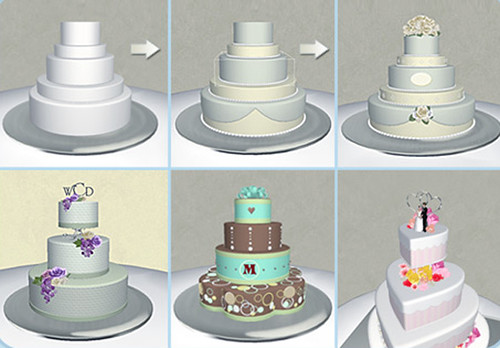 Cake-Transform Create your dream wedding cake using ...