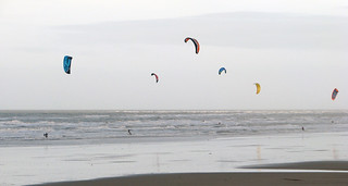 Kite Surfing | by Nikki-ann