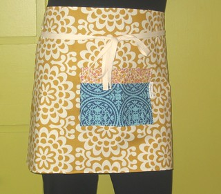 Golden Lotus Cafe Apron | by juniper tree